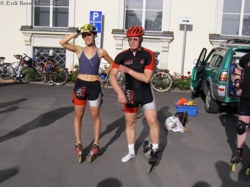 Céline och Patrik drar upp riktlinjerna