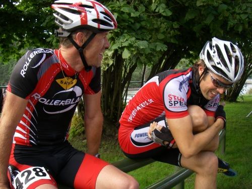 Tomas och Johan