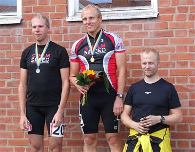Marathon-RM i Tidaholm 2007-09-08, Veteraner A. Foto: Johan Håmås.