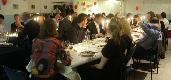 Bankett 2007. Foto: Ulf Haase.