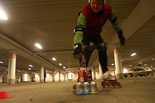 Luciaåkning med F&S 2007-12-12. Foto: Ulf Haase.
