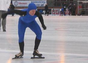 Karolin Palmertz Cerne, Sprint-SM, Uppsala 2008-01-05. Foto: Jukka Kivikoski.