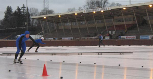 Karolin Palmertz Cerne, Sprint-SM, Uppsala, 2008-01-05. Foto: Jukka Kivikoski.