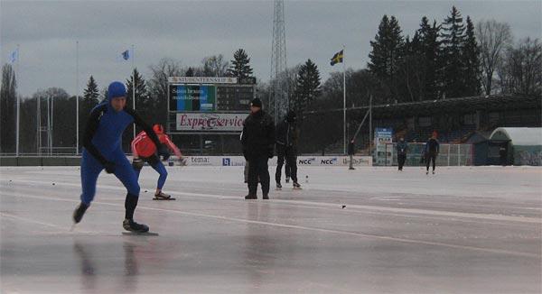 Johan Cerne, Sprint-SM, Uppsala, 2008-01-05. Foto: Jukka Kivikoski.