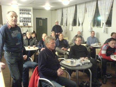 Elvastadsloppvideovisning 2008-02-08. Mobilkamerafoto: Ulf Haase.