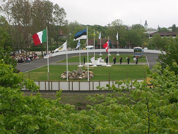 Invigning av inlinebanan i Varberg 2006-05-20. Foto: Ulf Haase.