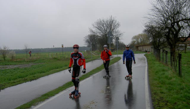 Flaeming skate, april 2008. Foto: Rudi Eichler.