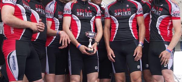 Sthlm Speed cykeltröja och kortbyxa