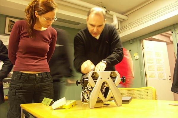 Meckarkväll 2008-11-13. Foto: Ulf Haase.