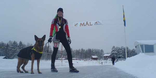 Ornäsrännet 8 feb 2009. Mobilkamerafoto: Ulf Haase.