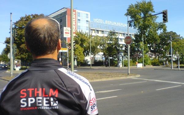 Hotel Berlin 2009. Mobilkamerafoto: Ulf Haase.