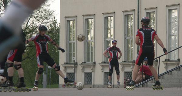 Teknikträning Sjöhistoriska museet 2010-05-18. Foto: Ulf Haase.