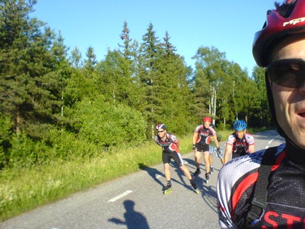 Stora Södertörnsrundan 2010-07-01. Mobilkamerafoto: Ulf Haase.
