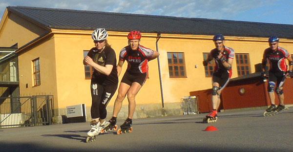 Teknikträning 2010-06-22. Mobilkamerafoto: Ulf Haase.