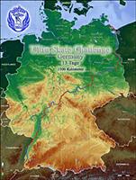 UltraSkateChallenge Germany. Karta gjord av Michael Seitz.