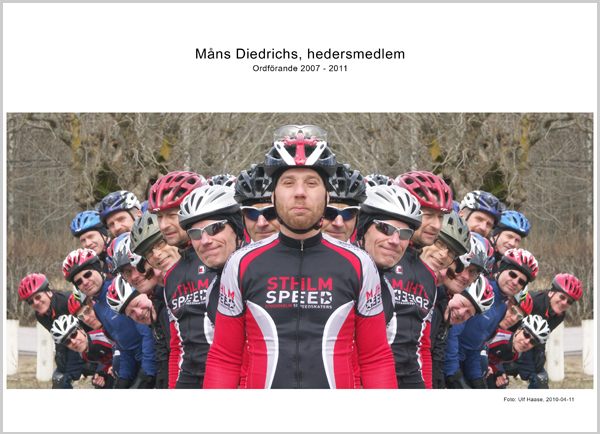 Hedersmedlem MÃ¥ns Diedrichs. Foto: Ulf Haase 2010-04-11.